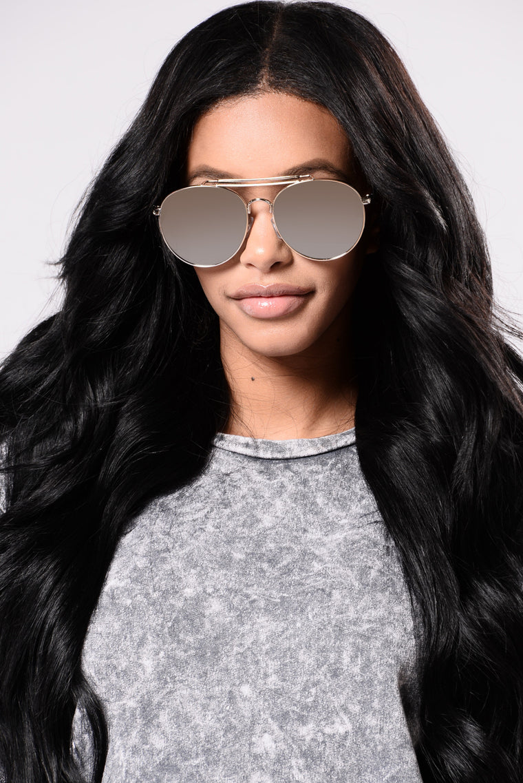 Willa Sunglasses - Silver/Silver