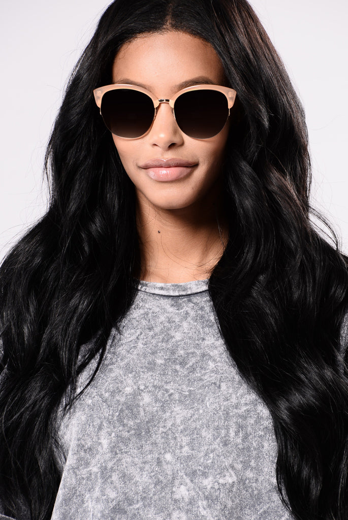 Kristina Sunglasses - Peach