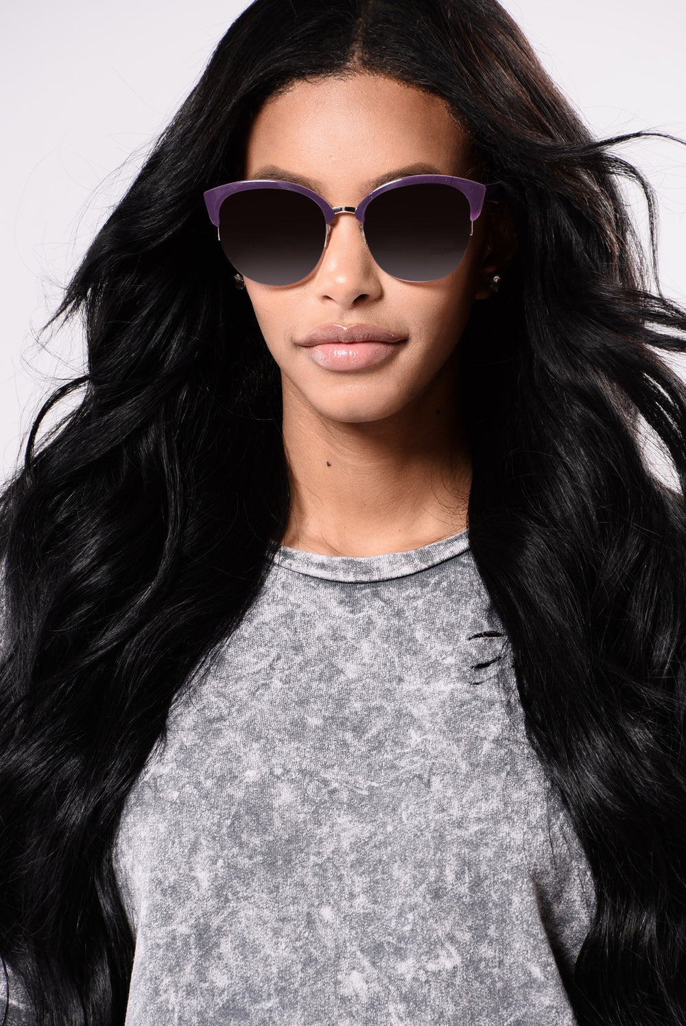 Kristina Sunglasses - Purple