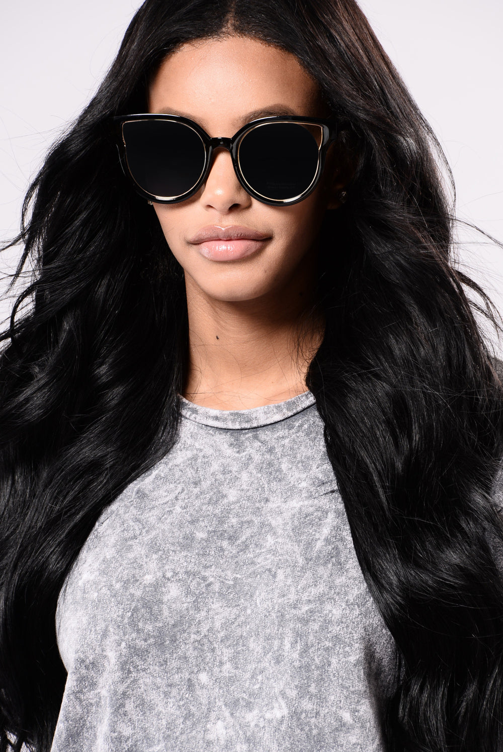 Megan Sunglasses - White