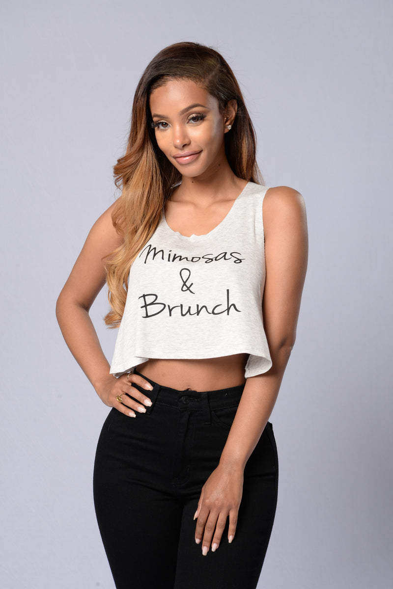 """Mimosas and Brunch"" Tank"