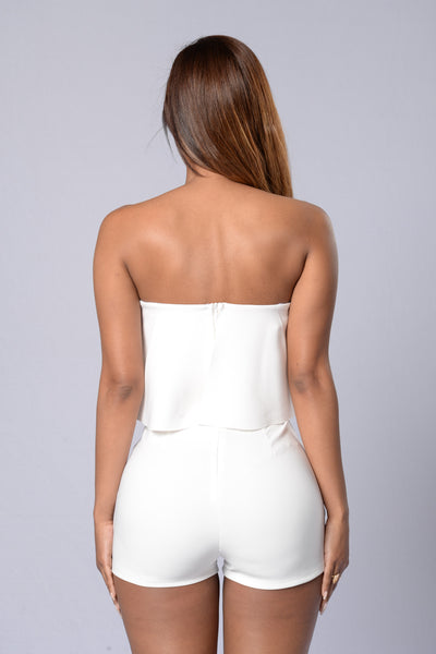 Perfect Harmony Romper - Ivory