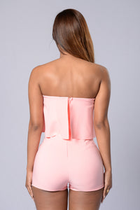Perfect Harmony Romper - Pink