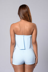 Perfect Harmony Romper - Blue Angle 2