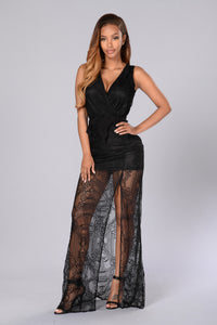 Endless Romance Dress - Black Angle 1