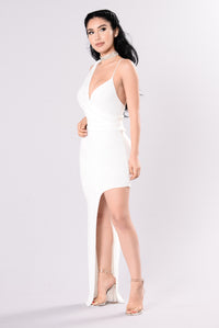 Killin Them Softly Dress - Ivory