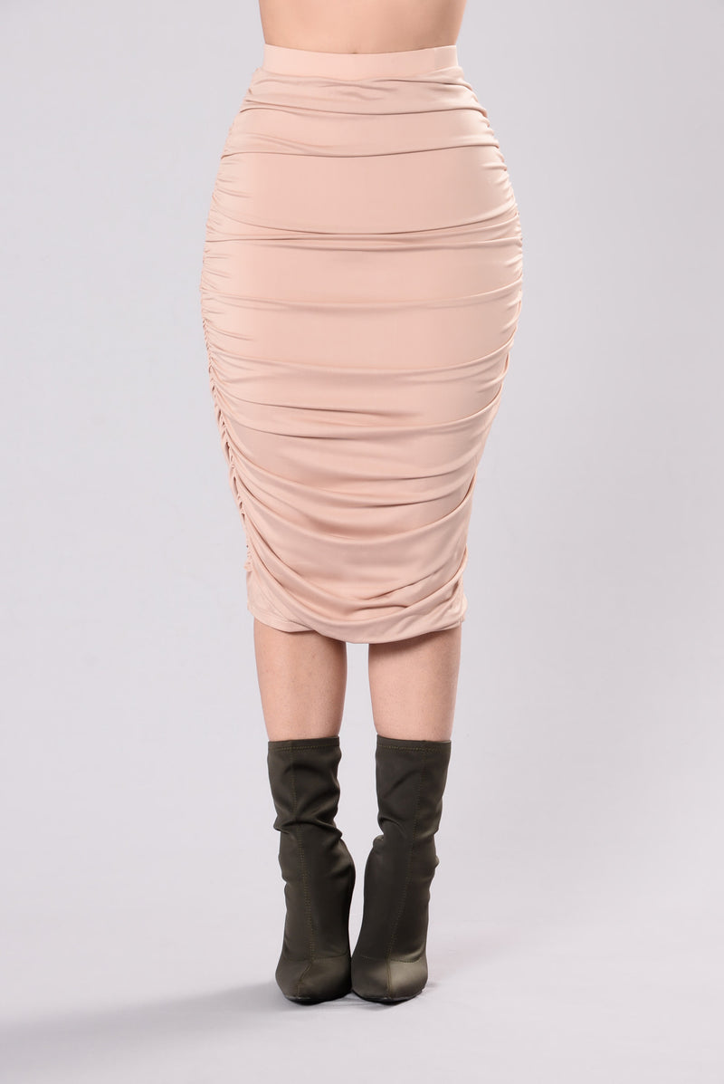 Post Breakup Skirt - Nude