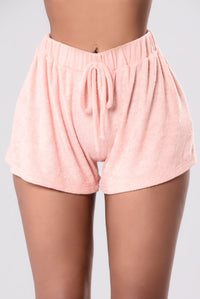 Work It Out Shorts - Blush