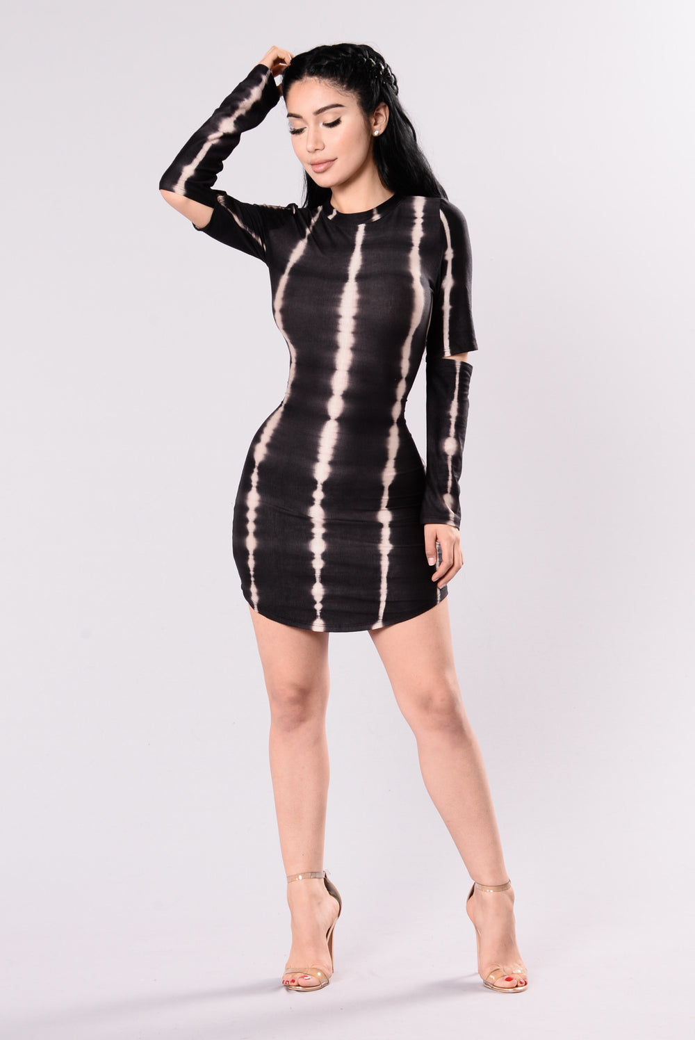 I Made It Dress - Black