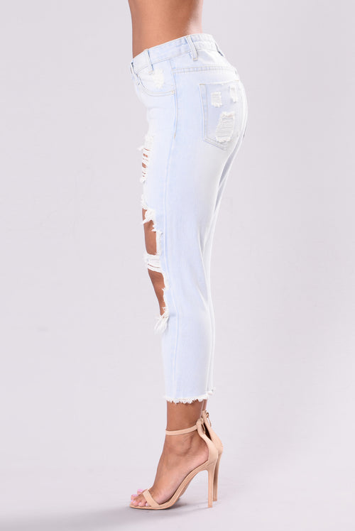 Money Maker Jeans - Light Blue