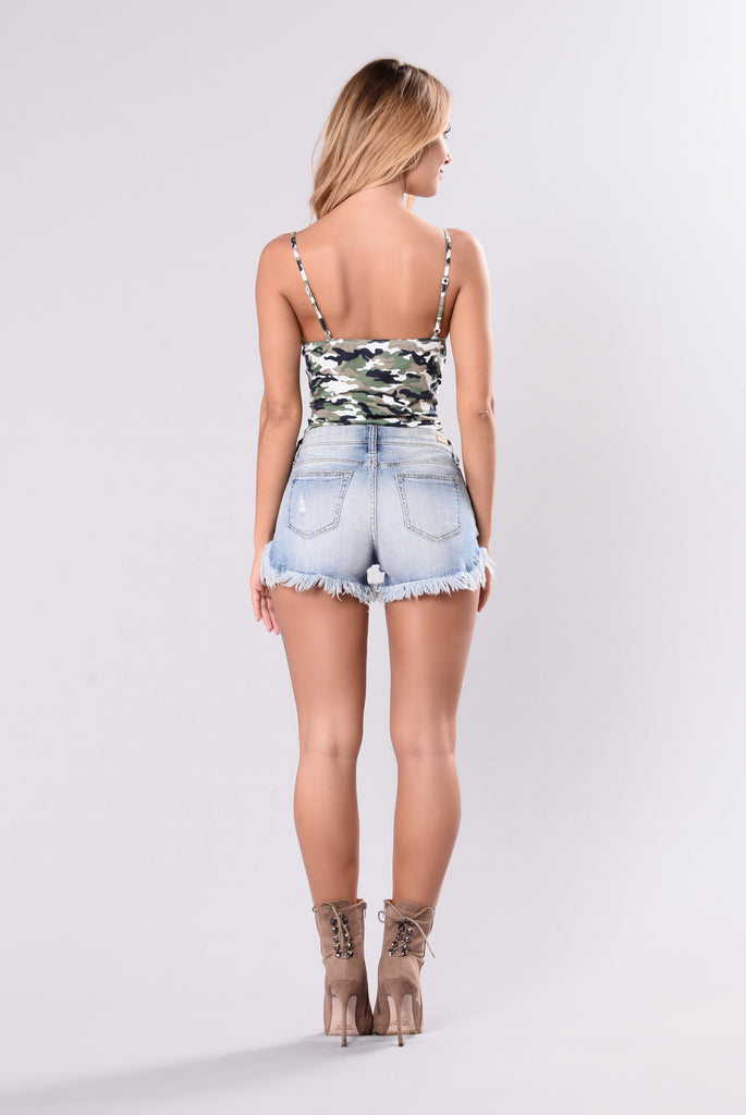 Tom Boy Bodysuit - Olive