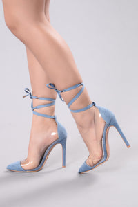 You Know Me Well Heel - Denim Angle 1