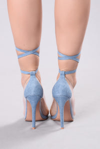 You Know Me Well Heel - Denim
