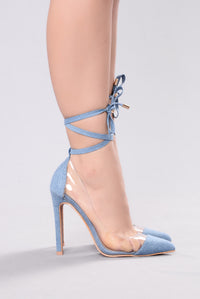 You Know Me Well Heel - Denim Angle 4
