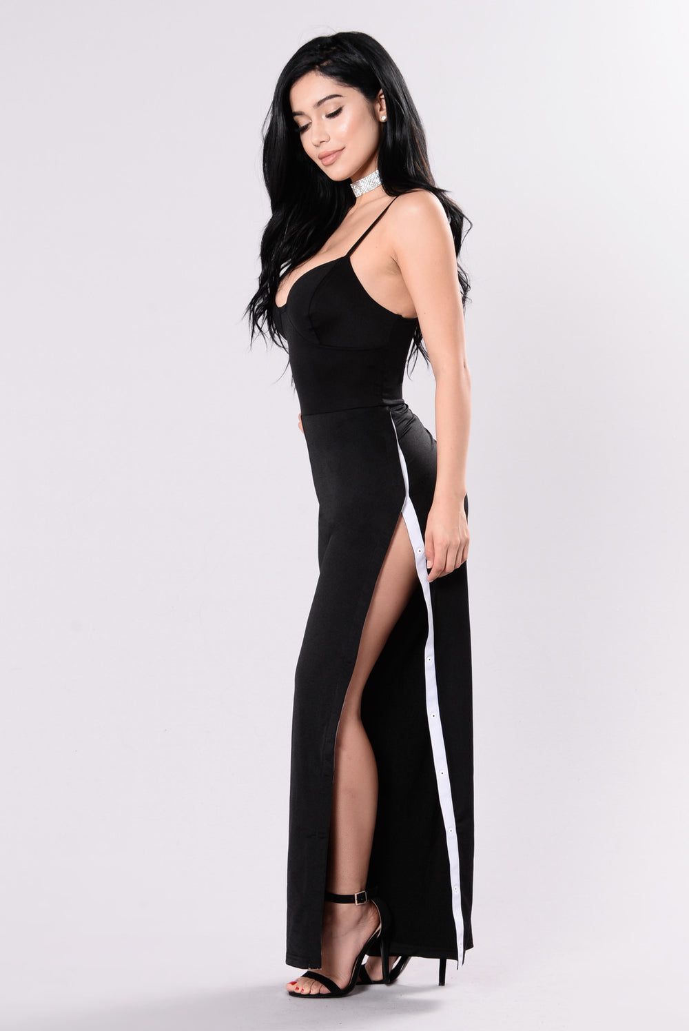 Just Like Candy Jumpsuit - BLack