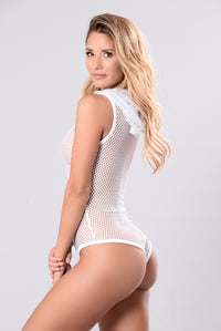 Always Be Your Girl Bodysuit - White