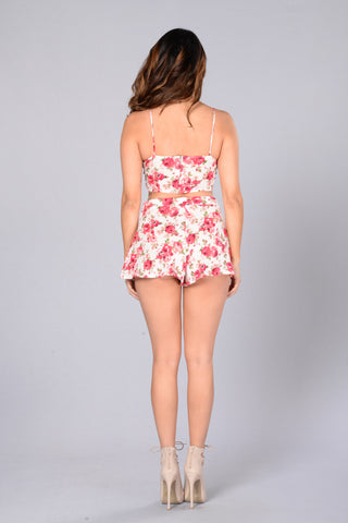 Always Blooming Shorts - Pink