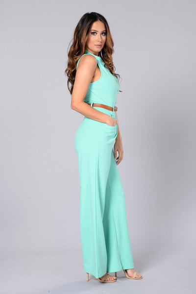 Amina Jumpsuit - Mint