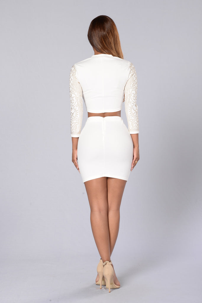 Own The Night Top - White
