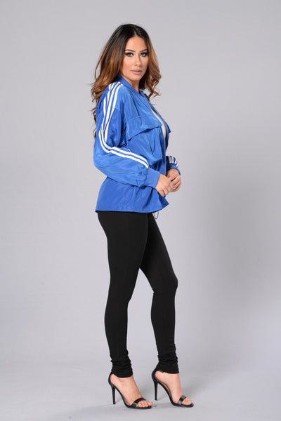 Swish Jacket - Royal Blue