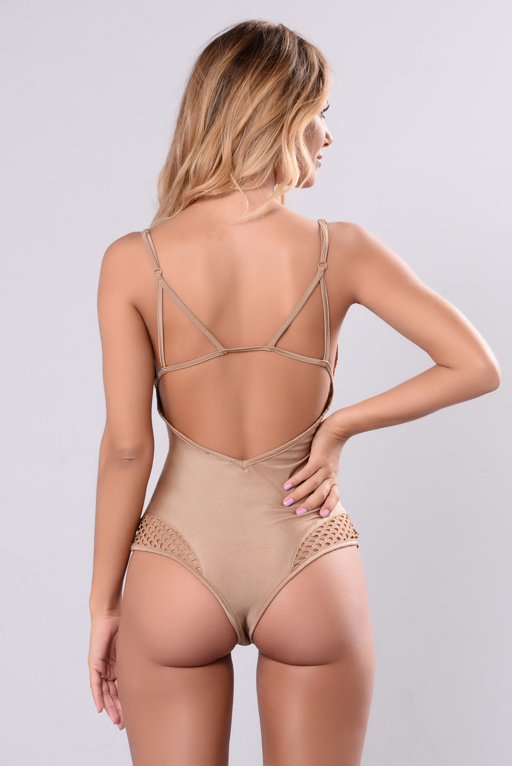 Being My Everything Bodysuit - Nude