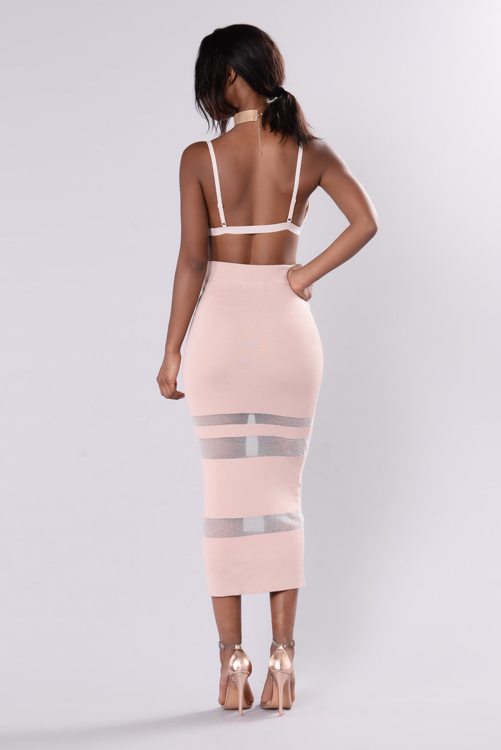 Banks Skirt - Dusty Rose