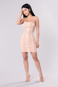 Daya Dress - Blush Angle 2