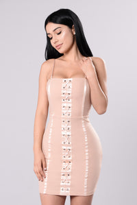 Daya Dress - Blush Angle 1