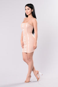 Daya Dress - Blush Angle 4