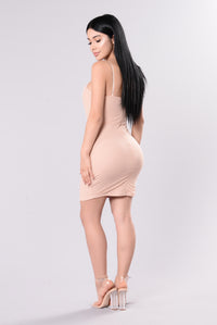 Daya Dress - Blush Angle 3