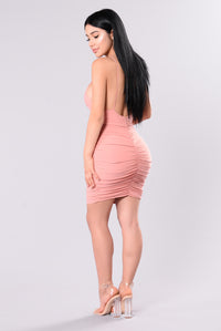Simple Sweetness Dress - Rose Dusty