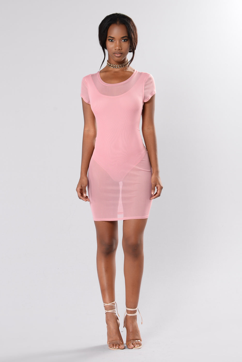 Skyler Dress - Mauve