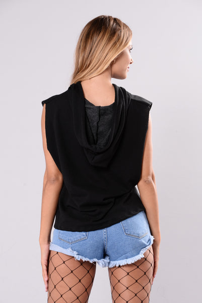 Rep The Best Top - Black