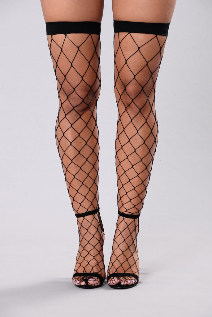Thigh High Fishnets