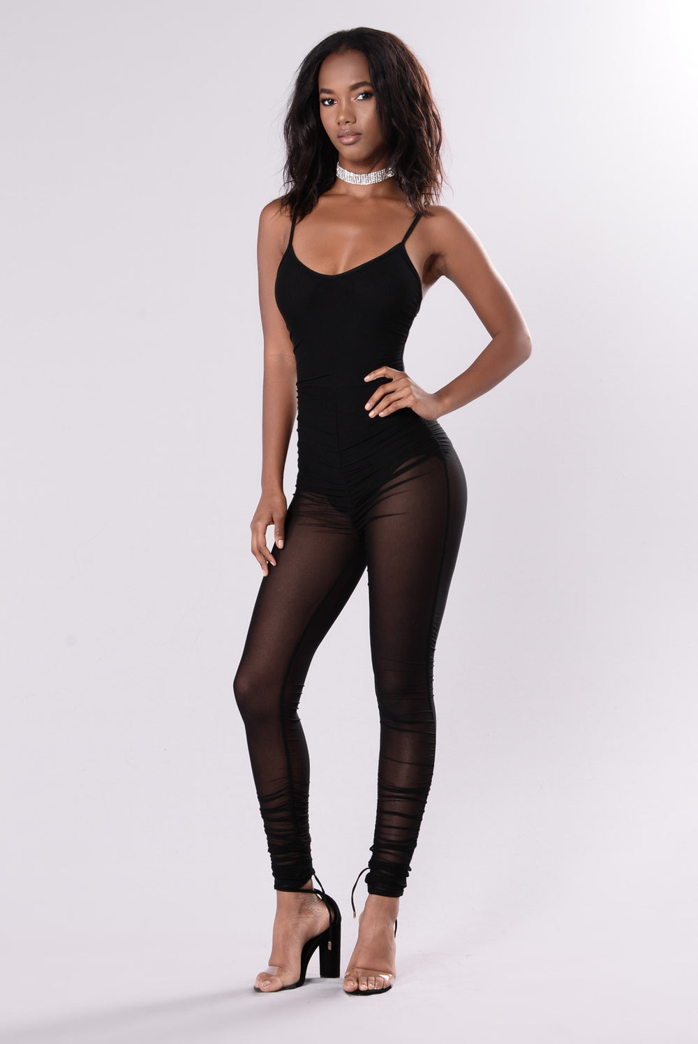 Can't Get Sexier Than This Jumpsuit - Black