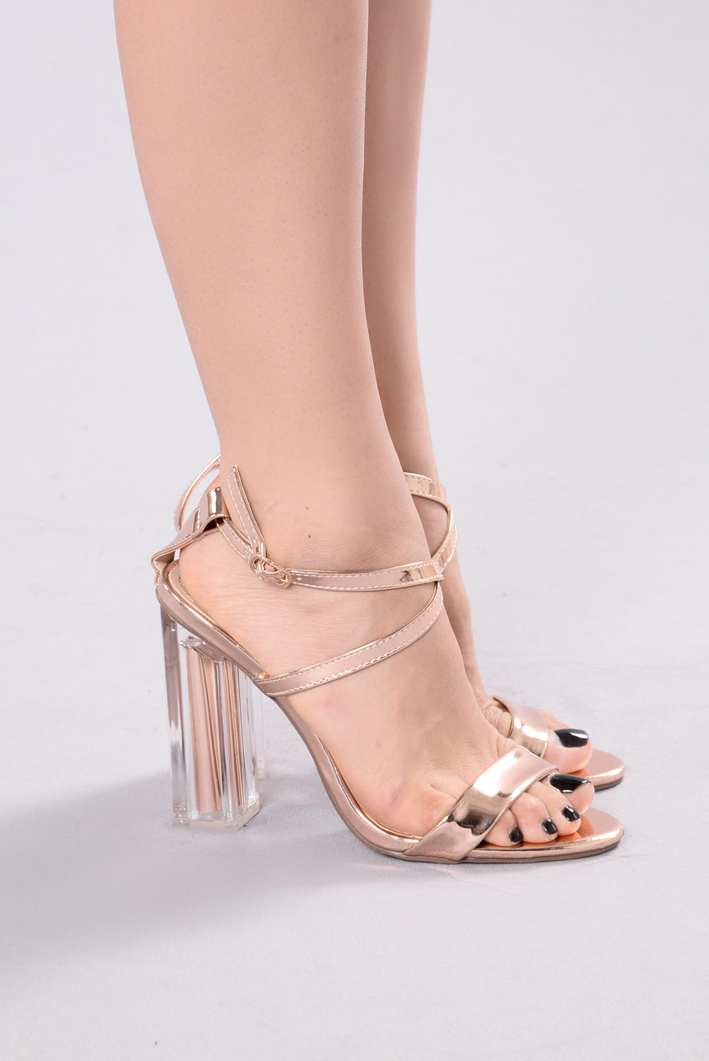 See You Tomorrow Heel - Rose Gold