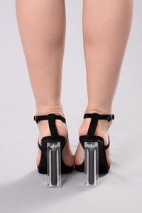 See You Tomorrow Heel - Black