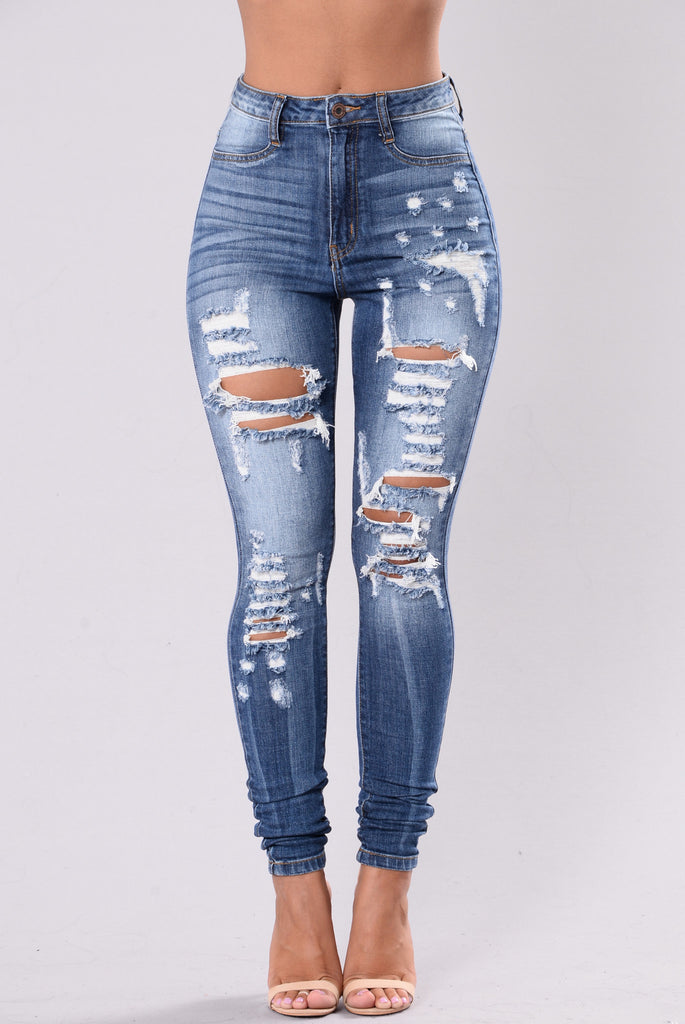 Post To Be Jeans - Medium Blue