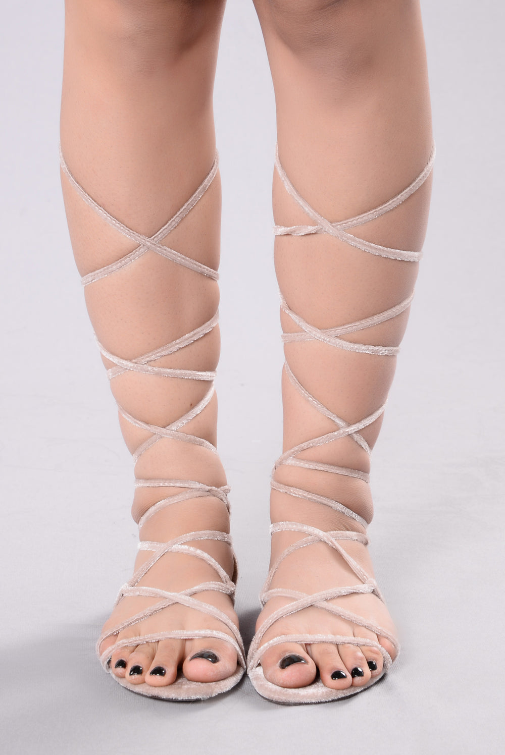 Wrap Me In Sandal - Nude
