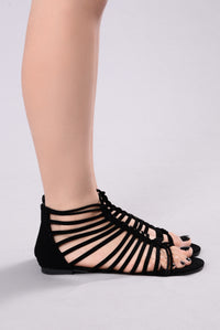Walk In The Park Sandal - Black