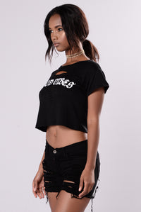 Feel The Vibe Tee - Black