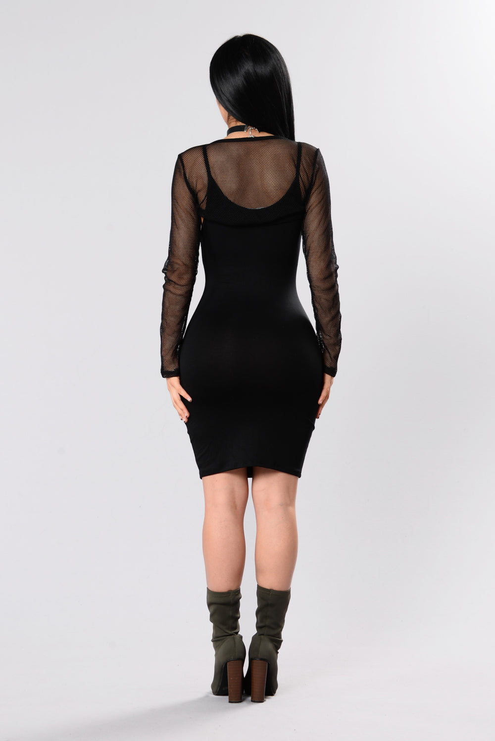 Make You See Dress - Black