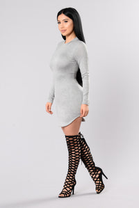 Beverly Hills Tunic - Heather Grey