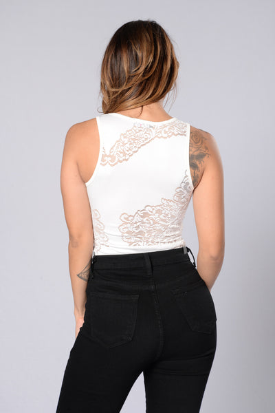 Dani Bodysuit - White