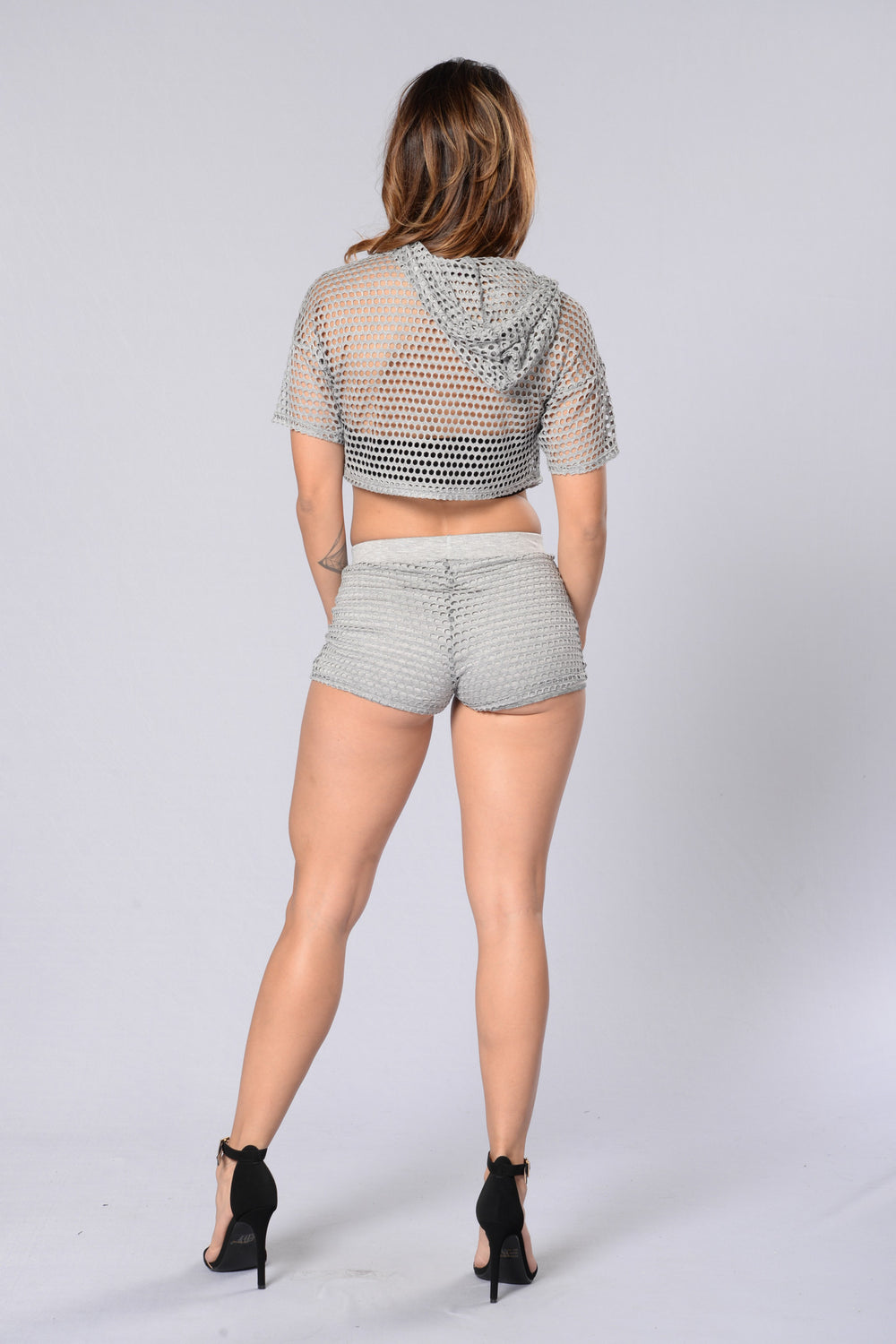 Aimless Shorts - Heather Grey