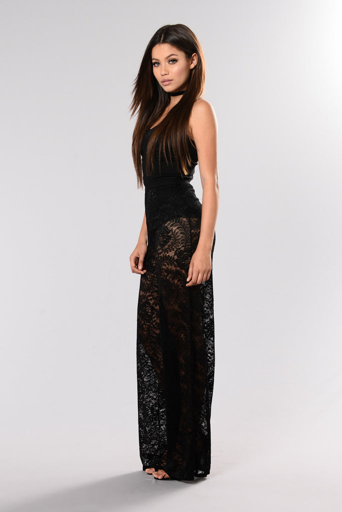 Formally Known As Yours Jumpsuit - Black