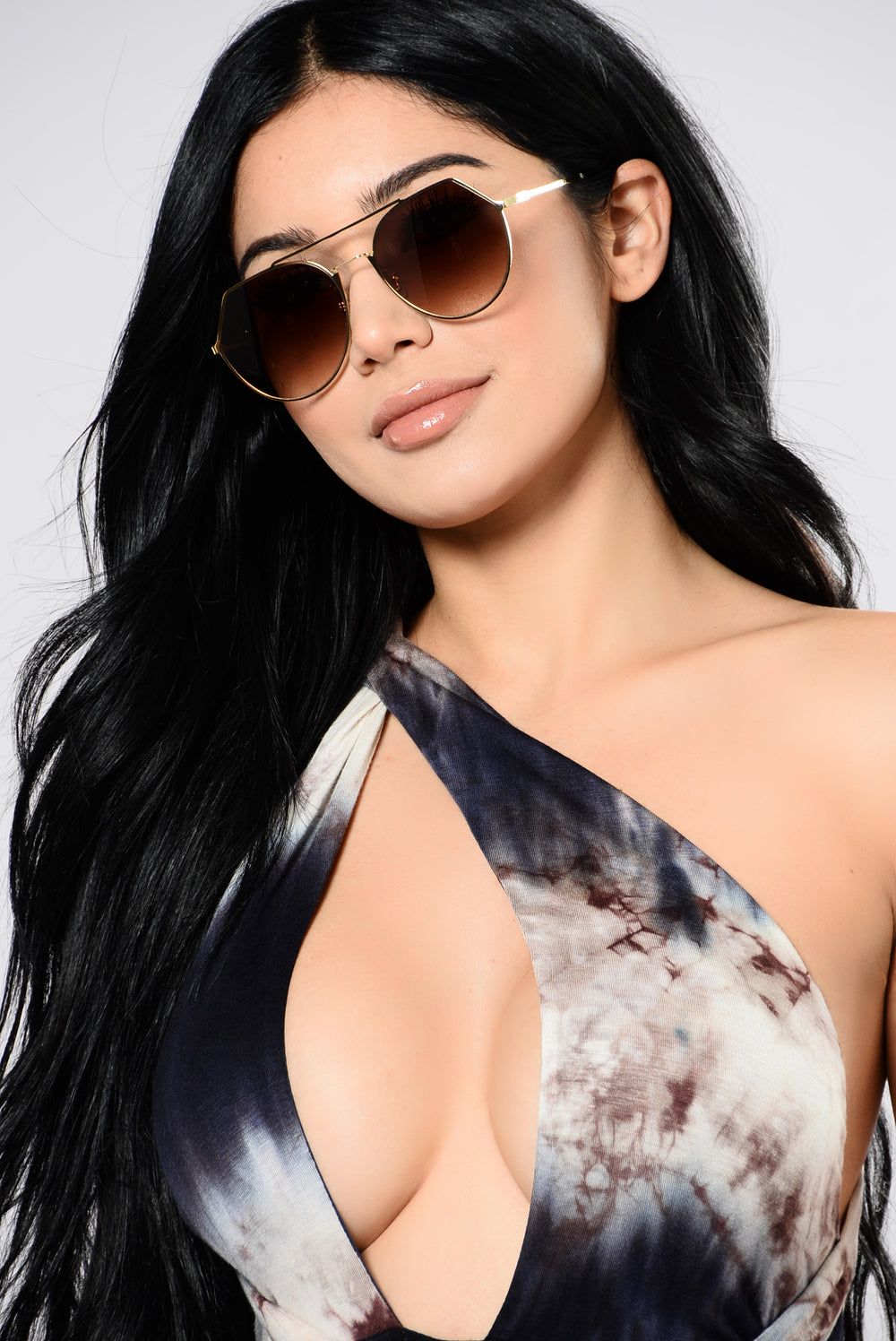 Joanne Sunglasses - Gold/Brown