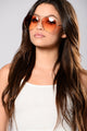 Boulevard Pool Sunglasses - Gold/Pink