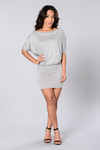 Evelyn Top - Heather Grey