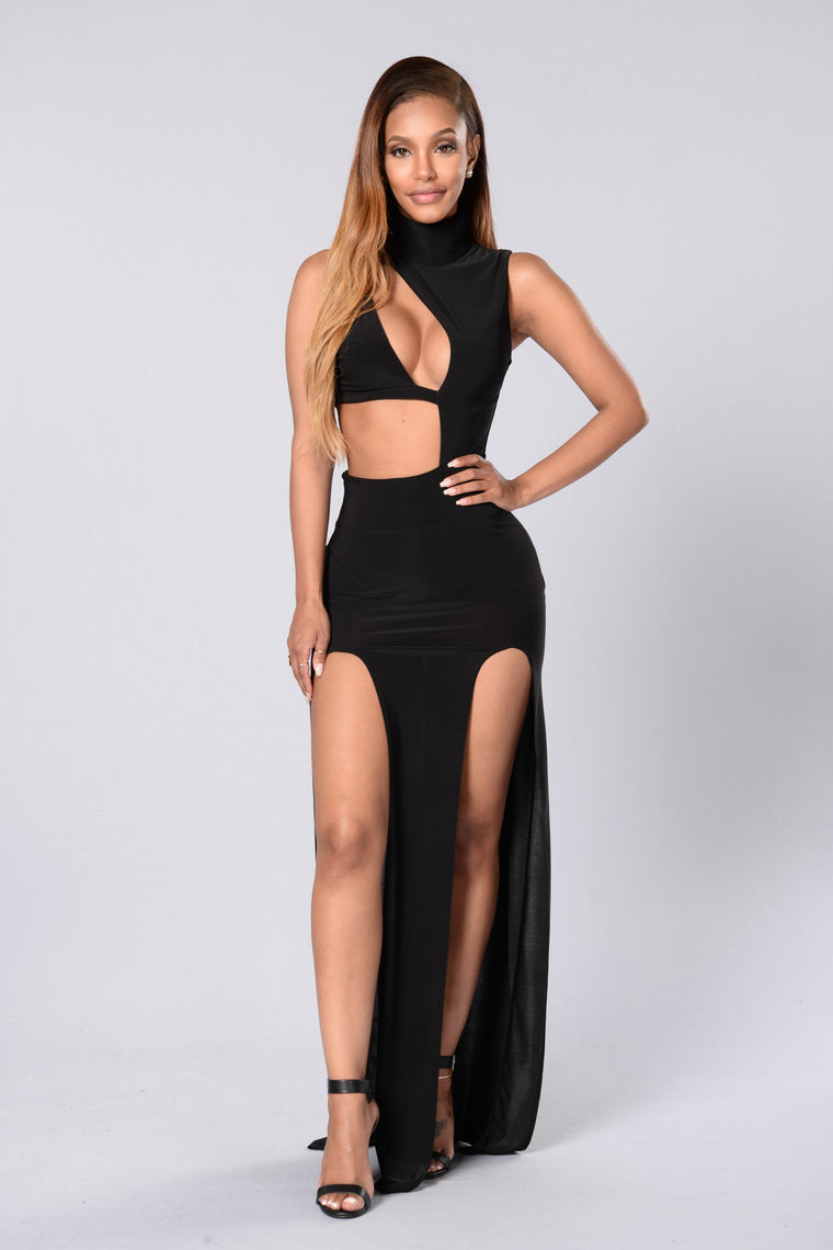 Best of Both Worlds Dress - Black